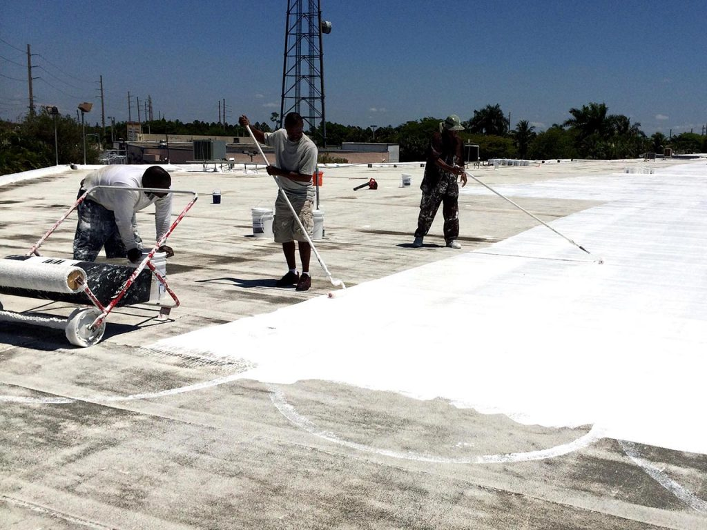 Silicone Roof Coating - EnergyGuard